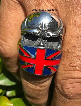 R17 - Skull with Union Jack