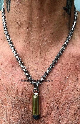 BU - Bullet on hex nut chain