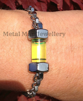 L5 - M3 Single ring Hex Nut and Level Bracelet