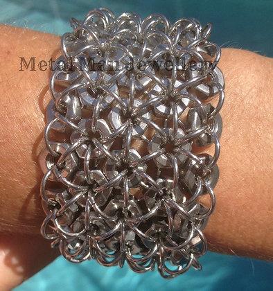 C3 - 5 Strand M6 Hex Nut Bracelet Special order