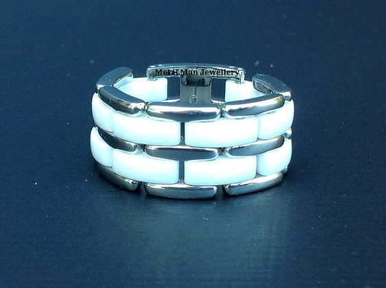 R12 - Double layer stainless & ceramic chain ring