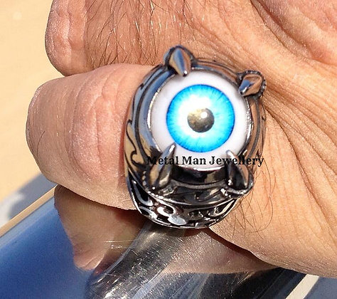 R - Unisex Eye of Satan Ring