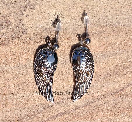 EP1 - Post Angel Wing Earrings