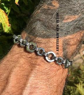 N7 - M8 & M6 Lock nut bracelet