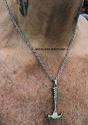 HAM1 Hammer pendant on fine chain