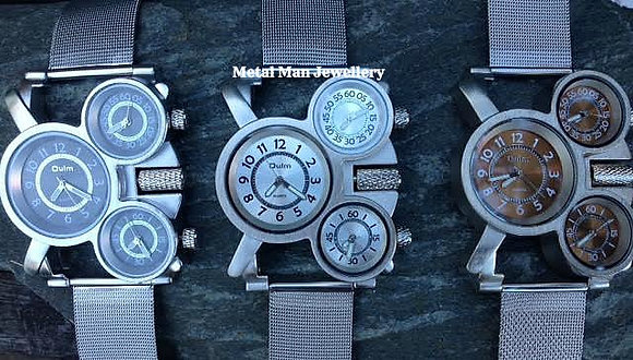 WCM - 3 Dial Watch