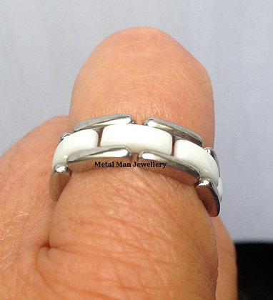 R9 - Ceramic and stainless chain ring