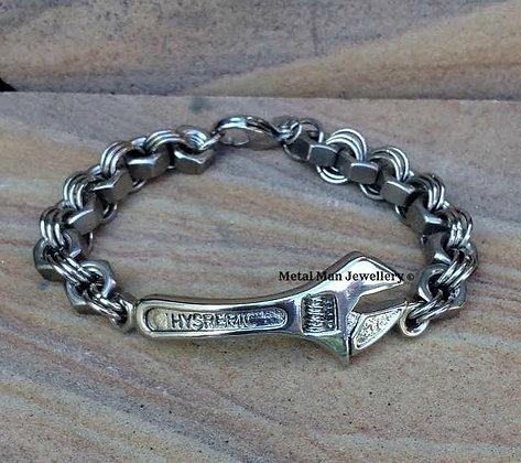 SP - Spanner bracelet with M6 nut chain
