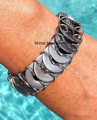 W -  Multi washer bracelet