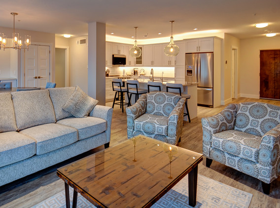 Sample Living Room Area Layout