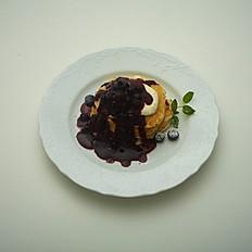 ブルーベリークリームチーズパンケーキ