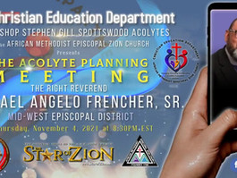 Acolyte Planning Meeting - November 4, 2021