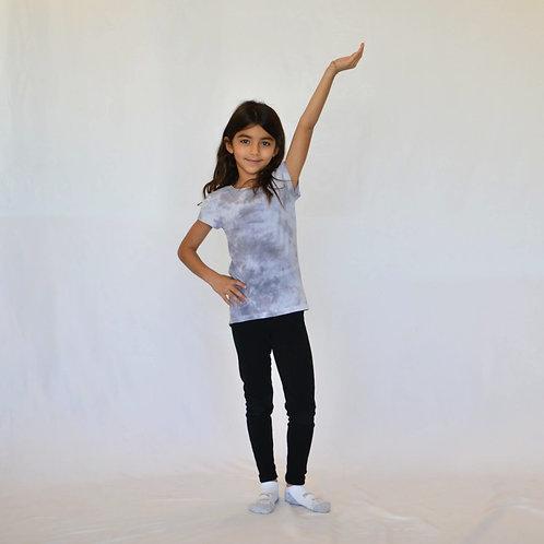Little Kids Charcoal Grey T-Shirt