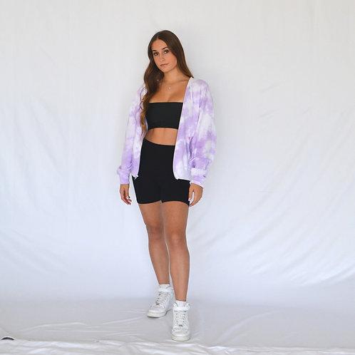 Lavender Zip Up