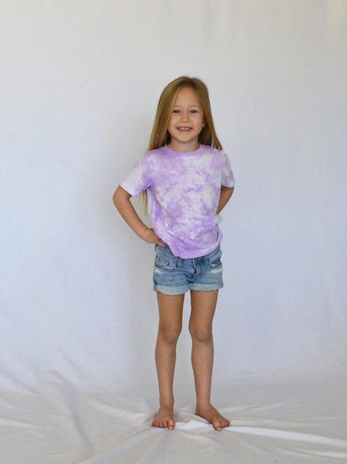 Little Kids Lavender Purple T-Shirt