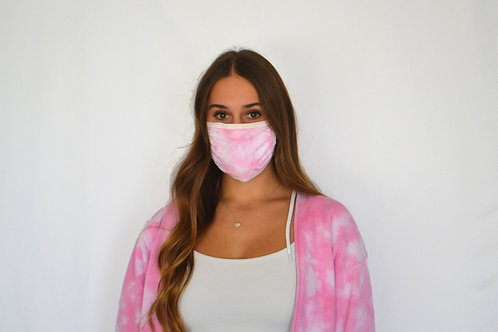 Cotton Candy Pink Mask