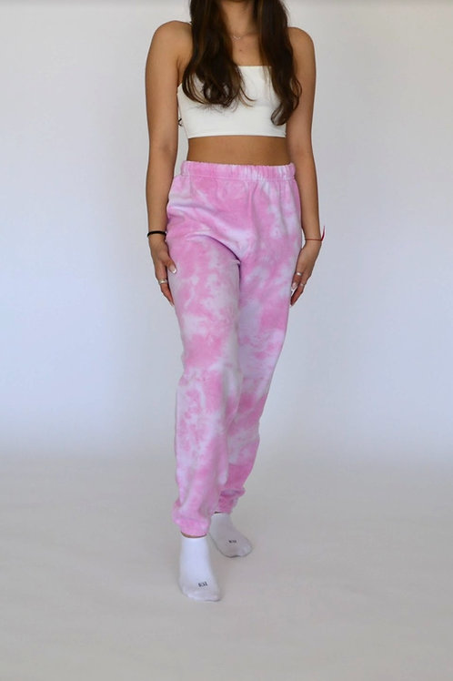 Cotton Candy Pink Sweatpant