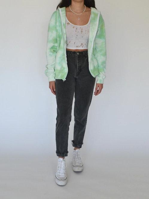 Apple Green Zip Up