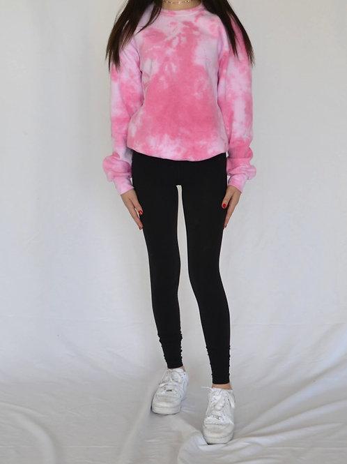 Cotton Candy Pink Crewneck