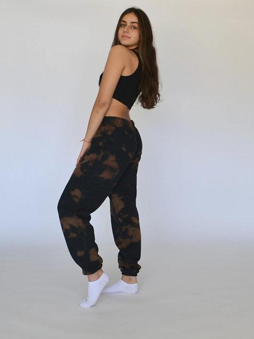 Burnt Bleached Sweatpants