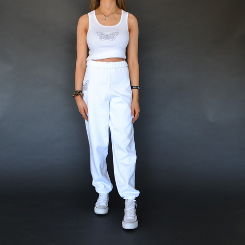 White Butterfly Set