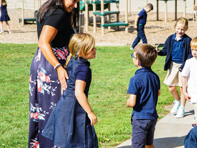 Courtney Krebill: Passionate about Kindergarten