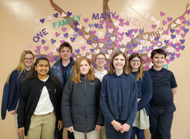 Student Leadership Equals Service at St. Patrick School
