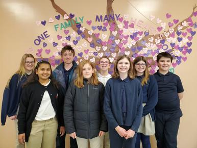 Student Leadership Equals Service at St. Patrick School