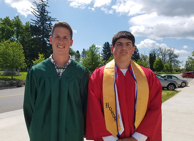 Two St. Patrick Graduates Earn Valedictorian Honors