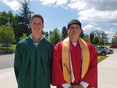 Two St. Patrick Graduates Earn Valedictorian Honors