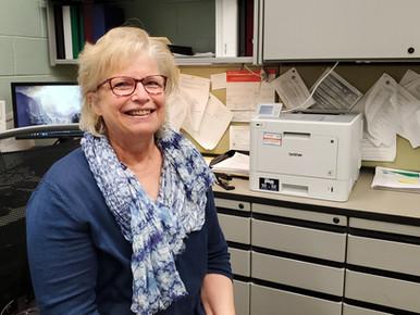 Cindy Samson Retiring as School Secretary