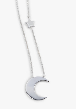Moon Star Necklace close up