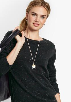 Hush Double Star Pendant model