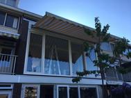 Kunststof kozijn eerste etage drive-in woning Diemen