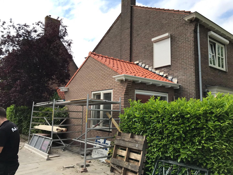 Aanbouw zijgevel Jan Bertsstraat