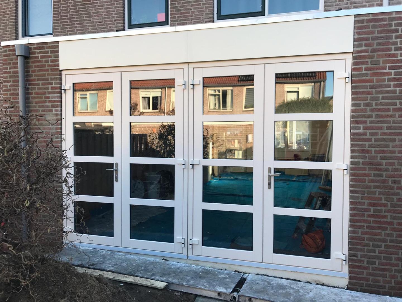 Kunststof kozijn met openslaande deuren Amstelveen
