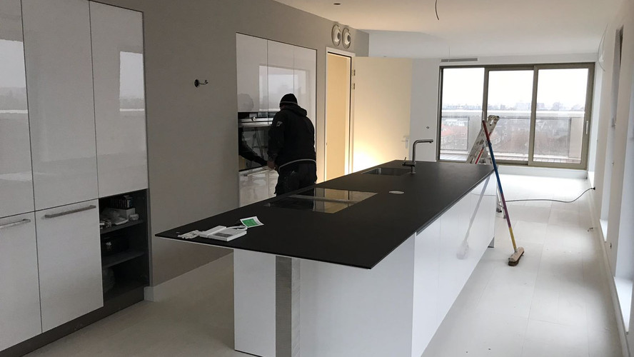 Verbouwing penthouse Amsterdam