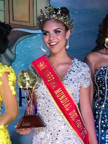 Vireina Mundial del oro 2016 Miss Holand