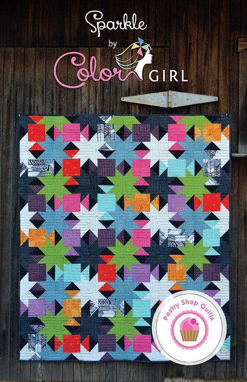 Color Girl SPARKLE Pattern