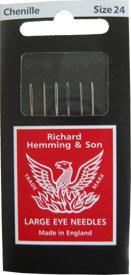 Chenille Needles #24 Richard Hemming & Son