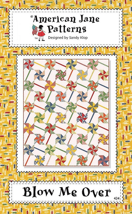 American Jane BLOW ME OVER Layer Cake Pattern