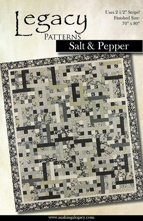 Legacy Patterns SALT & PEPPER Jelly Roll Pattern