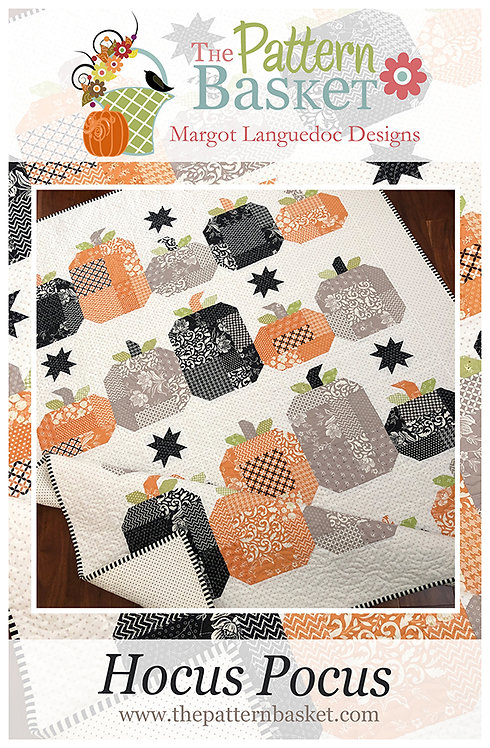 HOCUS POCUS Quilt Kit Fig Tree - dot background print