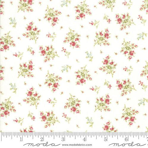 Rue 1800 44227 11 White Floral Moda 3 Sisters