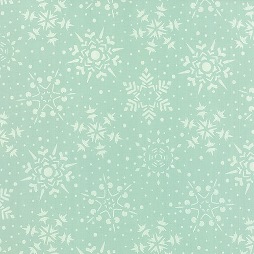 Very Merry 17832 15 Mint Snowflakes