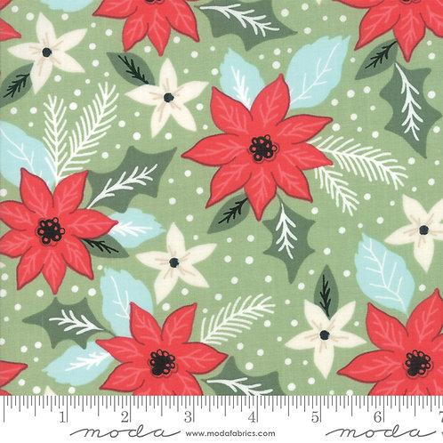 Little Tree 5091 12 Green Pointsettia Moda Lella Boutique