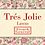 Thumbnail: Tres Jolie LAWNS 13529 164LW Pink Floral FRENCH GENERAL Moda