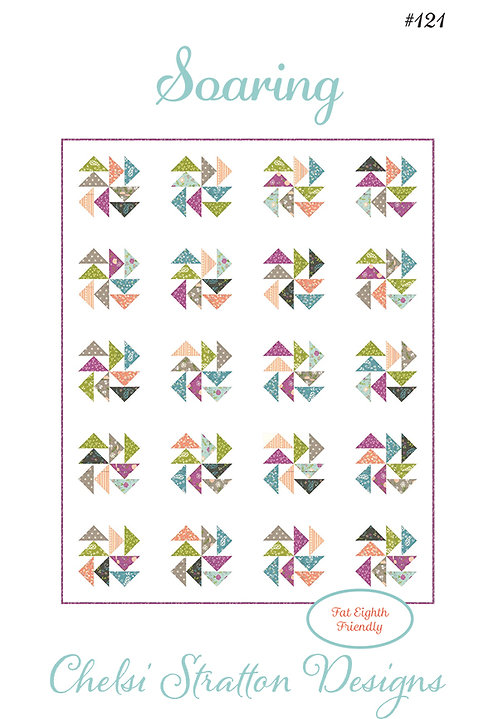 A Quilting Life SOARING Fat 1/8 Pattern