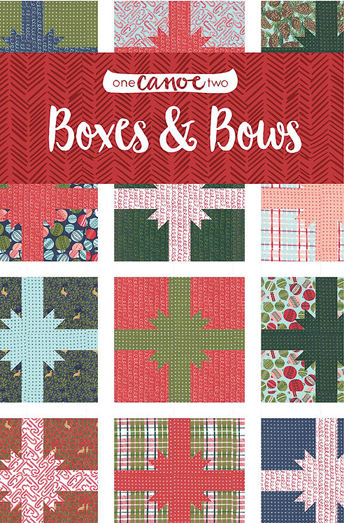 One Canoe Two BOXES & BOWS Pattern