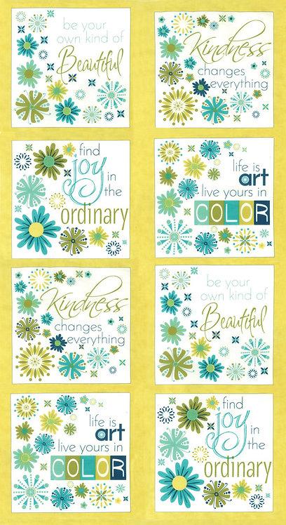 Well Said 17860 11 Lime Moda Panel Sandy Gervais